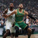 Bucks y Celtics chocan este viernes en el reinicio de la temporada
