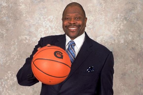 Patrick Ewing entrenador de la Universidad de Georgetown