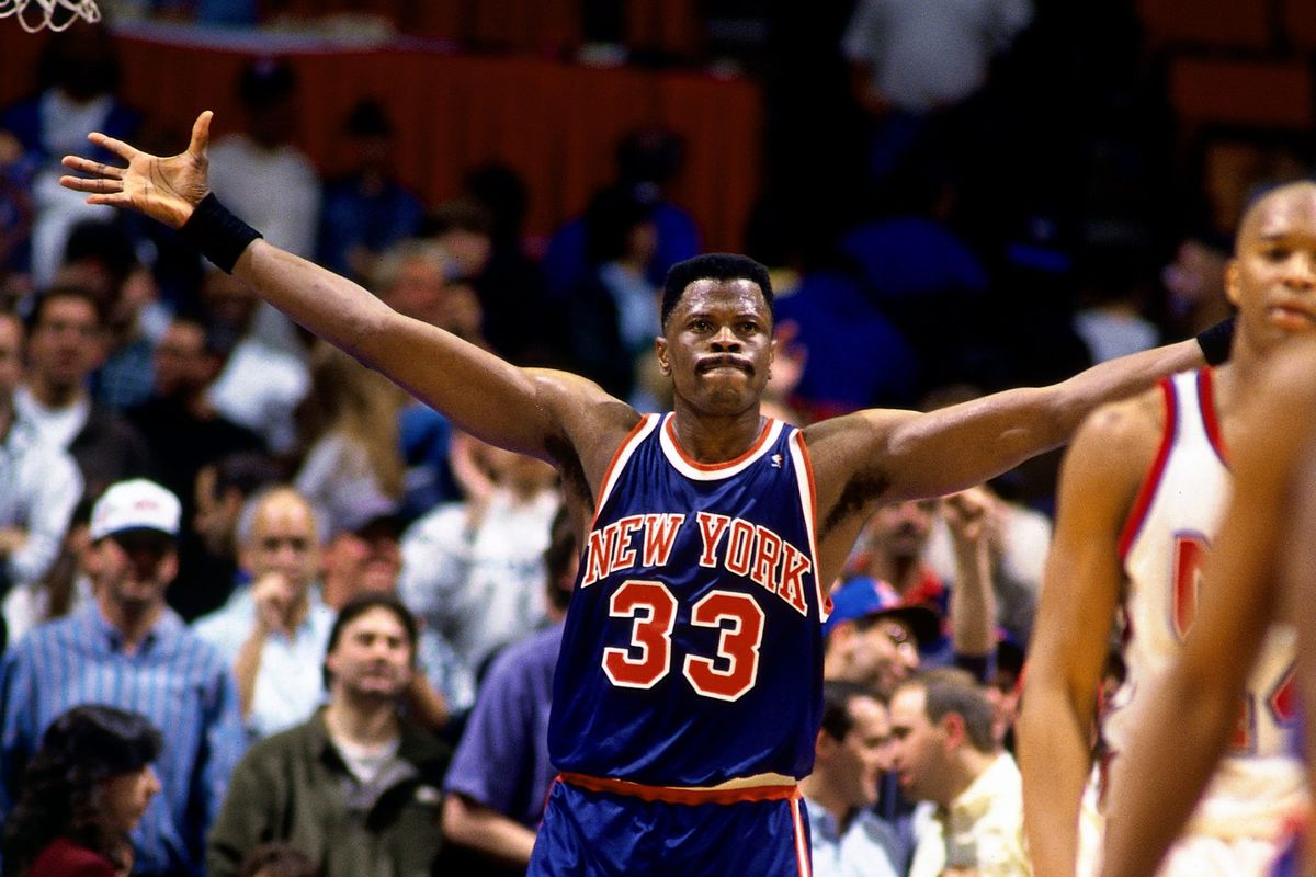 Patrick Ewing mimbro del Dream Team de USA