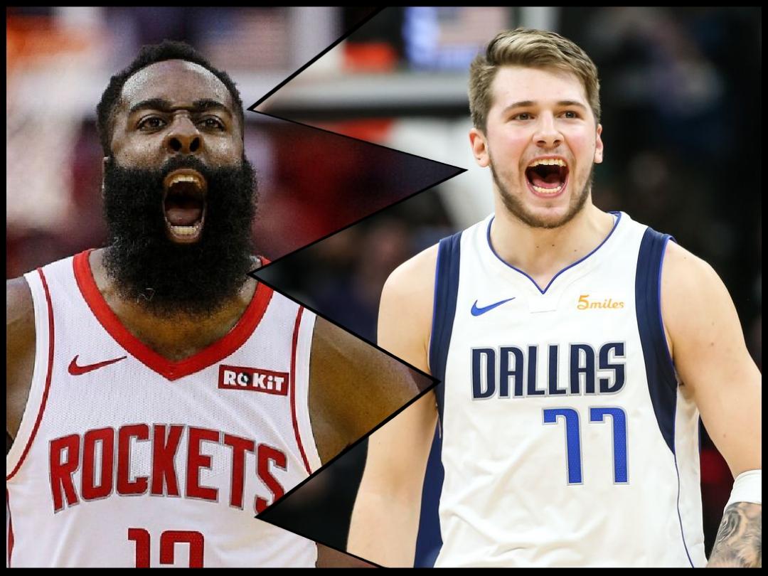 Rockets vence a los Mavericks con Harden a la cabeza