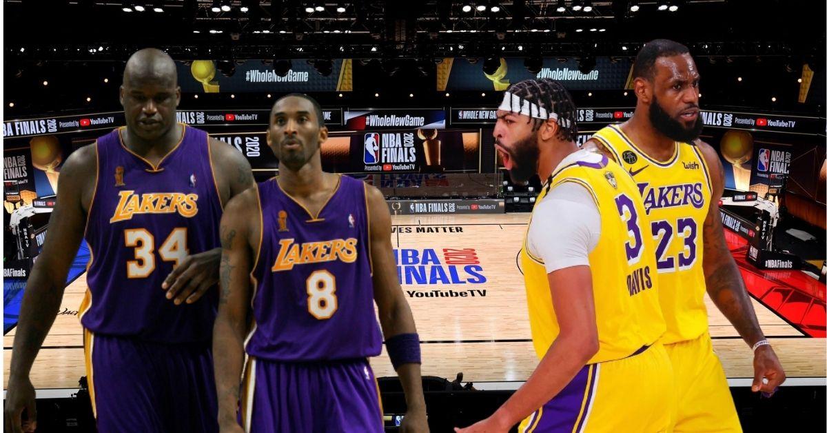 LeBron James y Anthony Davis, Kobe Bryant y Shaquille O´neall
