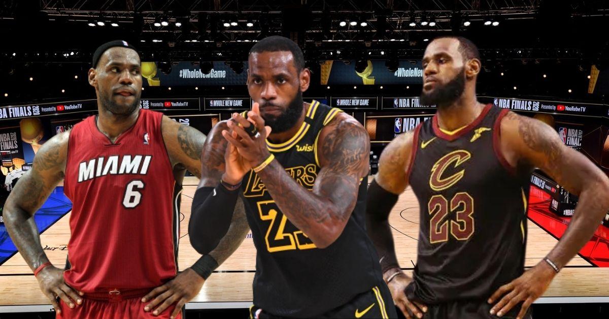 LeBron James y una marca en NBA
