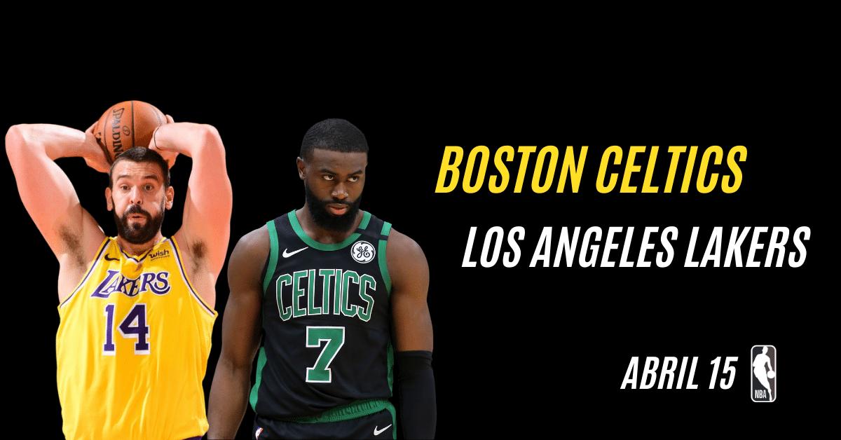 Celtics en Lakers