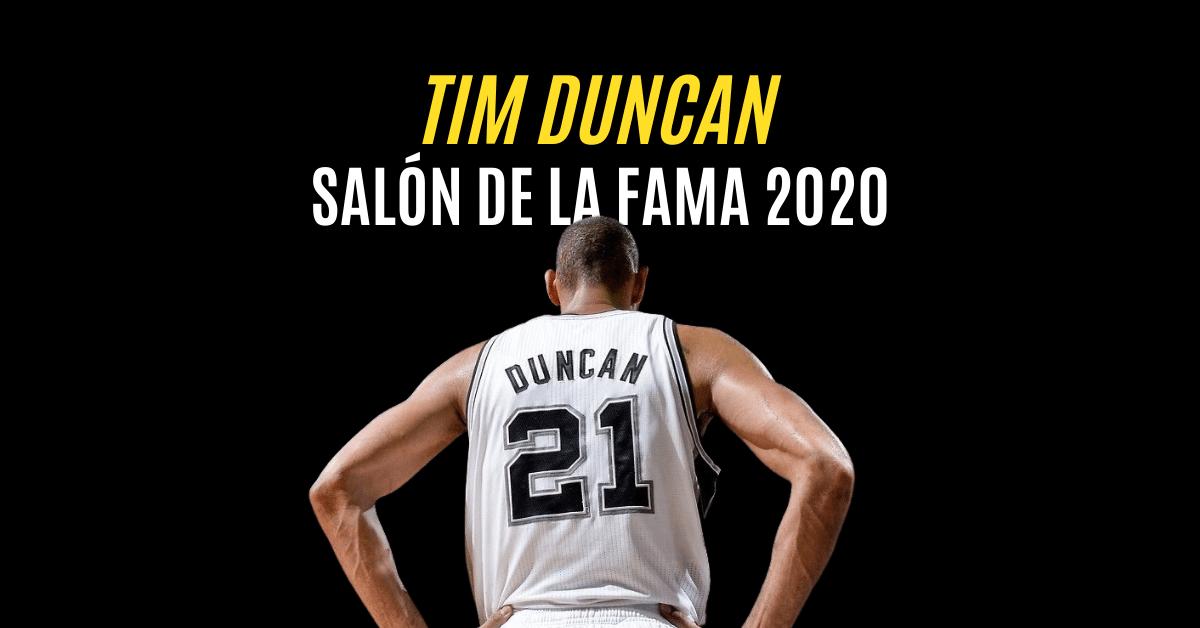 Tim Duncan HOF